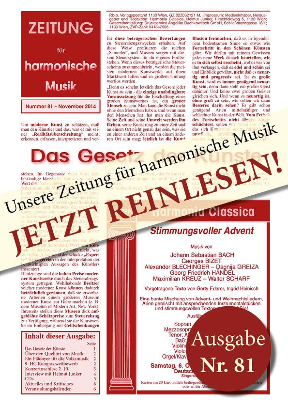 Deckblatt HC Zeitung81