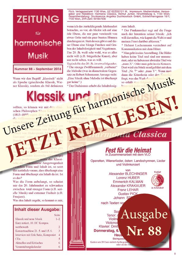 Deckblatt HC Zeitung88