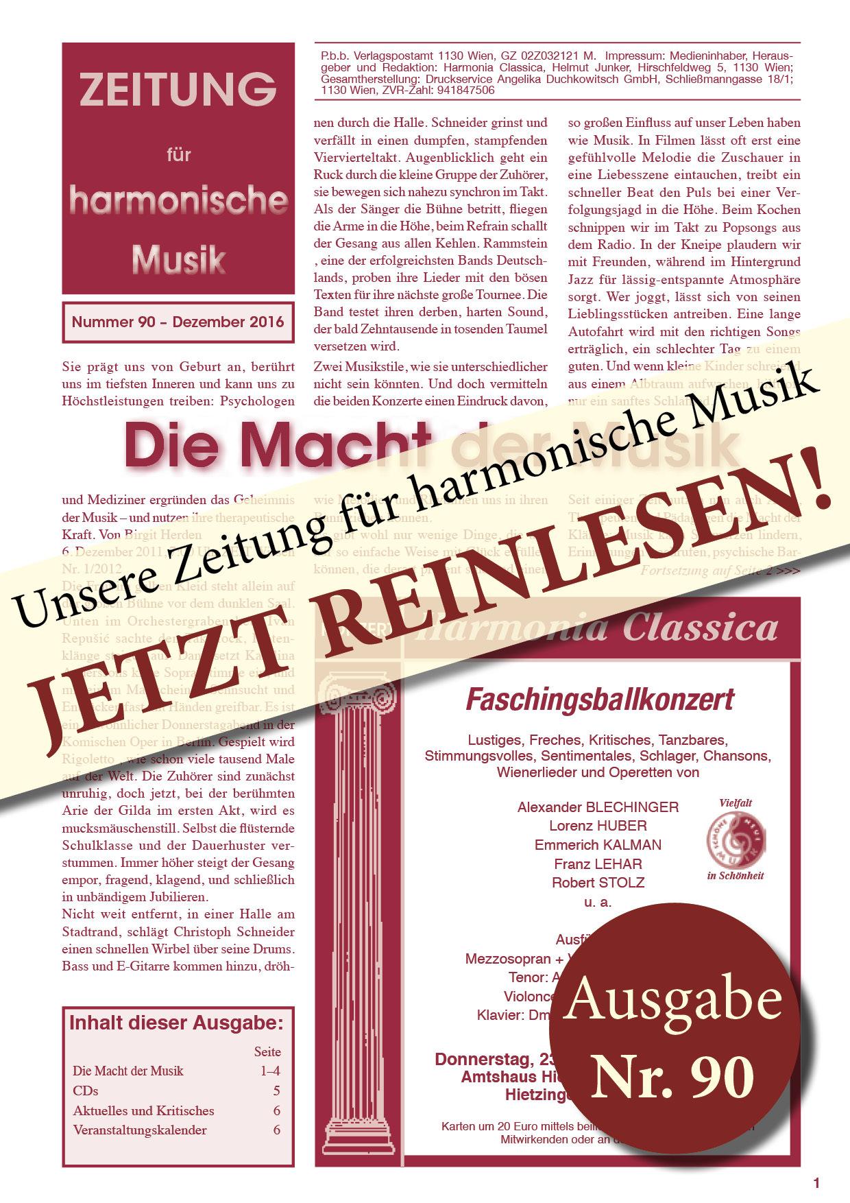 Deckblatt HC Zeitung 90