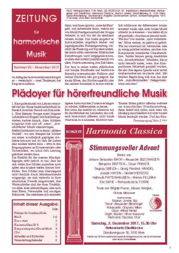 Deckblatt HC Zeitung 93